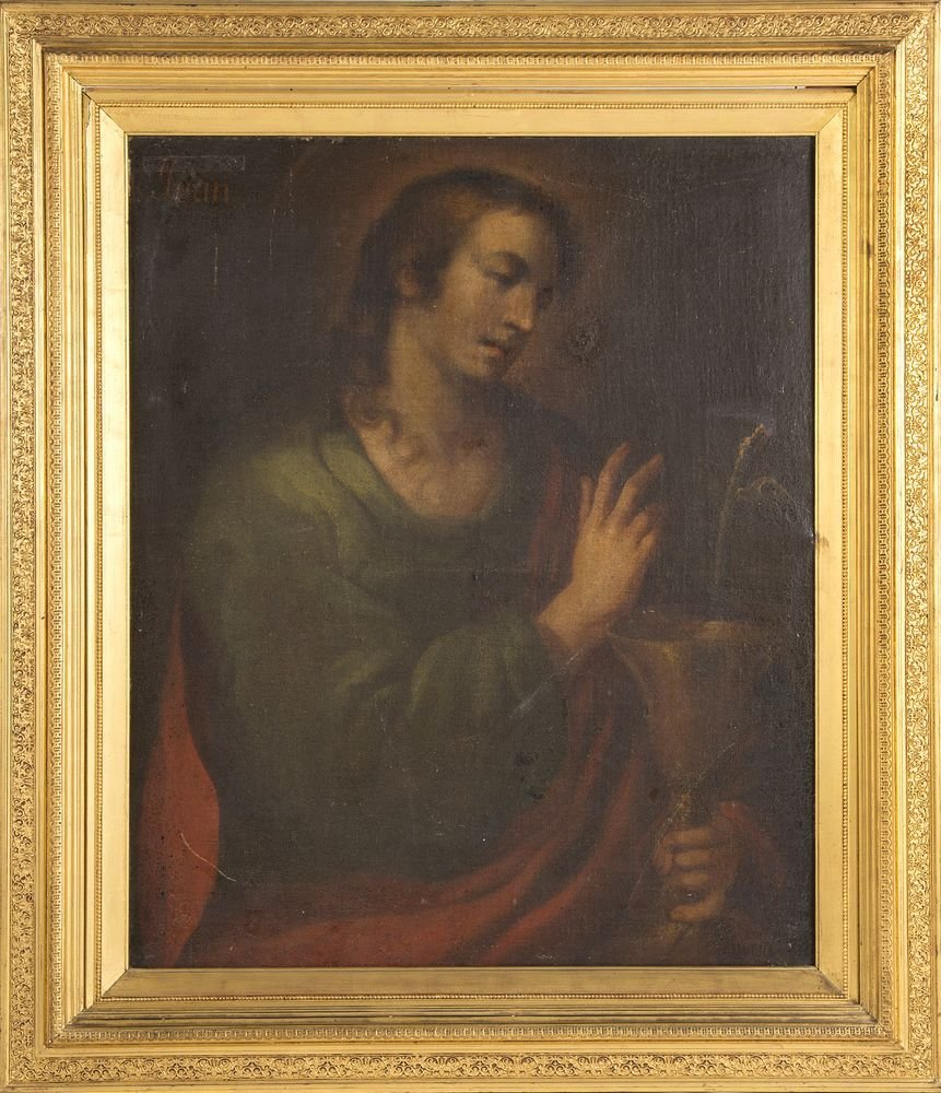 CIRCLE OF ALONSO CANO (Spanish, 1601-1667) St. John the