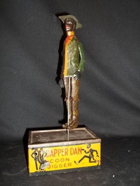 66: Antique Louis Marx Coon Jigger Dapper Dan