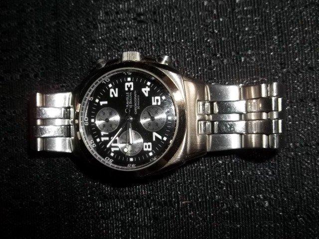 1: Bulova Caravelle Mens Chronograph Watch