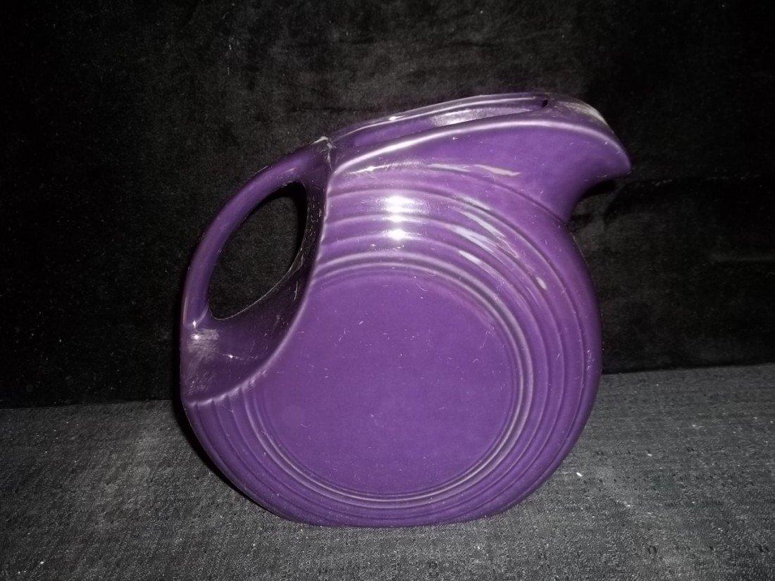 442: Purple Fiesta Ware Pitcher