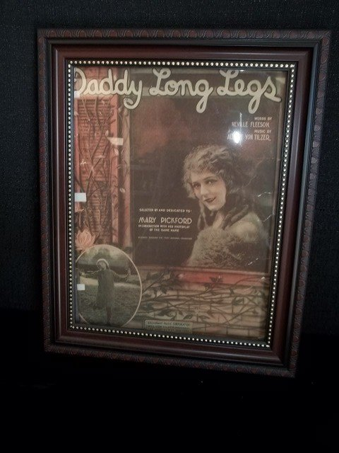 8: Mary Pickford Daddy Long Legs Sheet Music