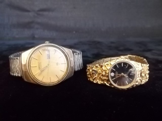14: Seiko & Gruen Watch Lot