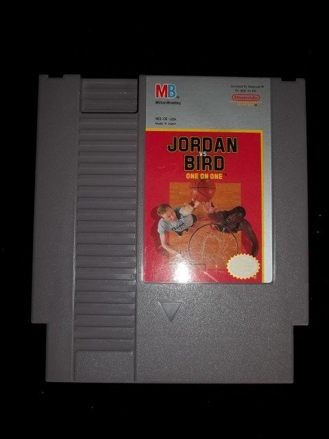 20: Michael Jordan VS. Bird Nintendo NES