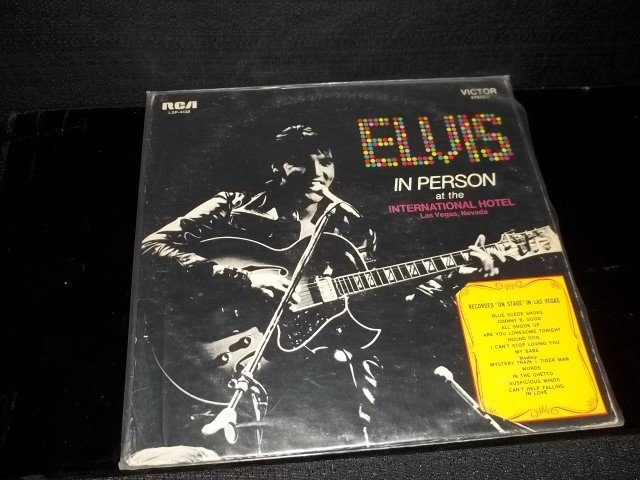 253: Elvis in Person Record