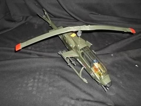 4: 1980's GIJoe Tomahawk Helicopter W Wild Bill