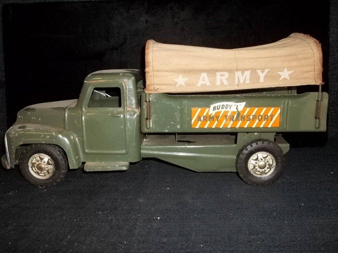 23: Old Buddy L Canvas Army Transport