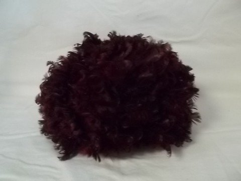 81: Vintage Glenover Henry Pollak Red Feather Wool Hat