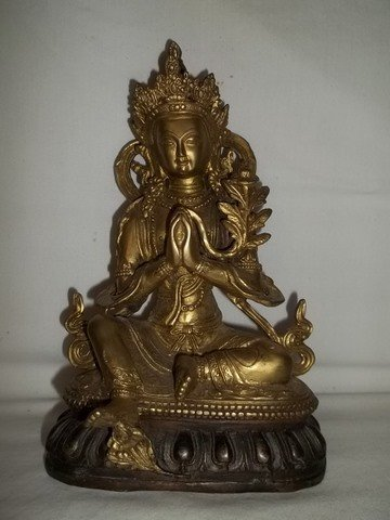 261: Oriental Asian Kali Statue Bronze