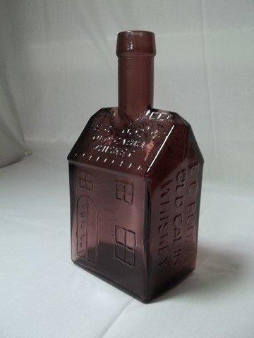 1: Purple Old Cabin Whisky Bottle