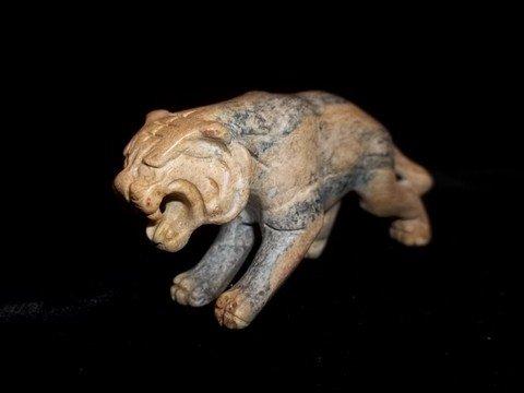 13: Oriental Marble Tiger Statue