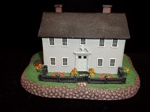 4: Norman Rockwell Miniature House