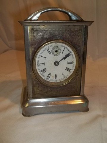9: Antique 1891 Wagon Clock
