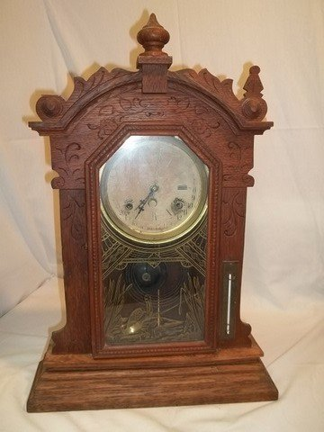 20: Old Gingerbread Clock
