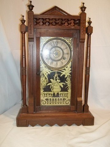 21: Old 1881 Vistula Clock