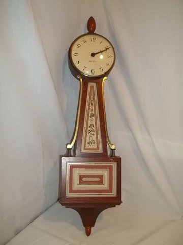 24: Seth Thomas Banjo Clock