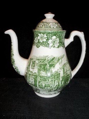 232: Coaching Taverns 1828 Royal Tudor Ware