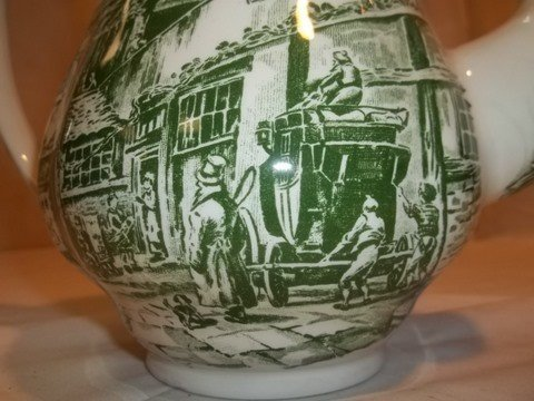 232: Coaching Taverns 1828 Royal Tudor Ware - 5