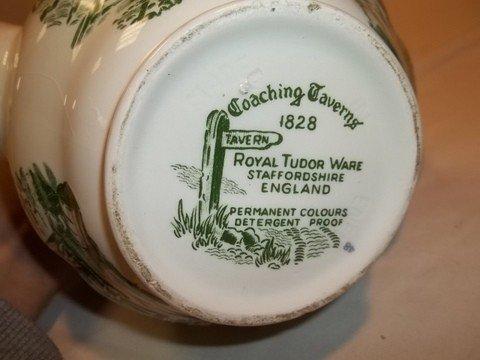 232: Coaching Taverns 1828 Royal Tudor Ware - 6