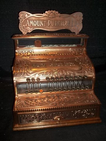 307: Nice 1905 Math Mravintz National Cash Register