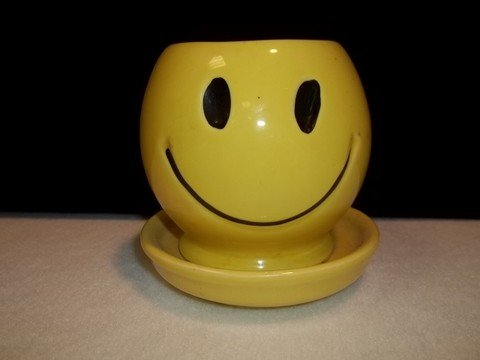 5: Mccoy 0386 Smiley Planter