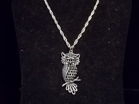 8: Nice Owl Necklace