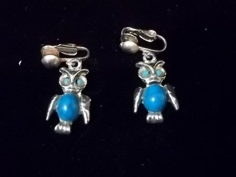 1: Native American Turquiose Style Earings