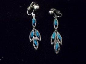 2: Native American Turquiose Style Earings