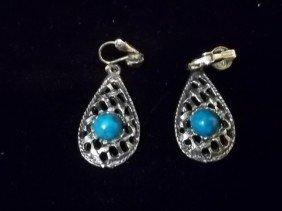 3: Native American Turquiose Style Earings