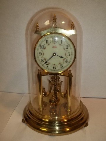 305: Kieninger Kundo 400 Day Calender Dome Clock German