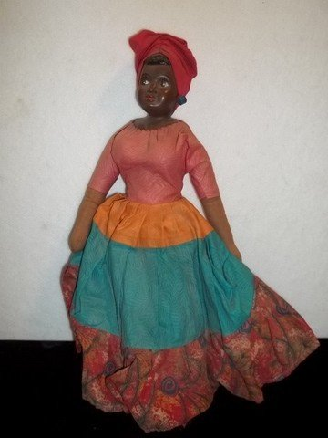 2: Old Black Americana Doll
