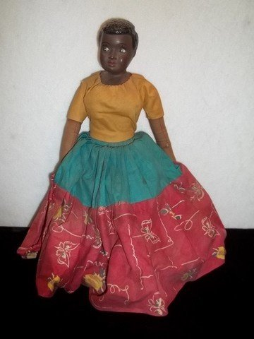 3: Old Black Americana Doll