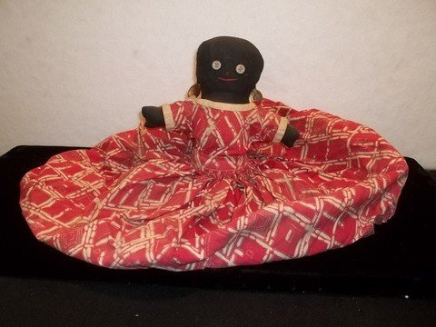 4: Black Americana Toaster Cover Doll