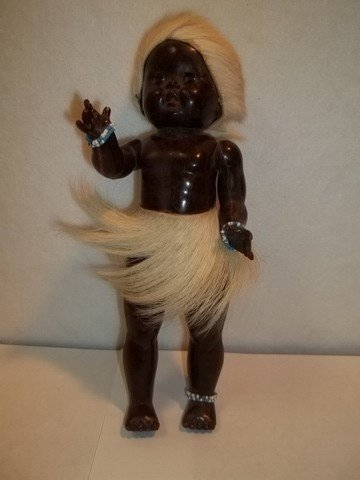 8: Cintage African American Doll