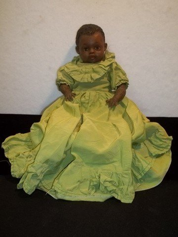 9: Old Ideal African American Doll