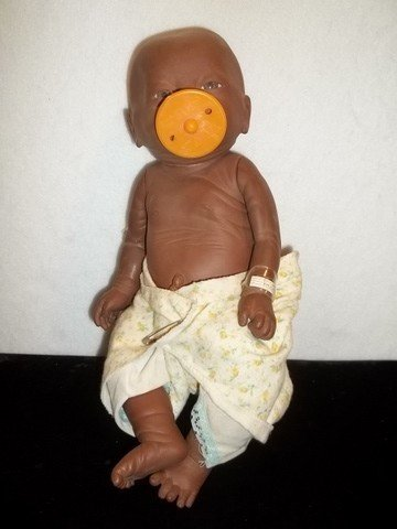 10: African American Baby Doll