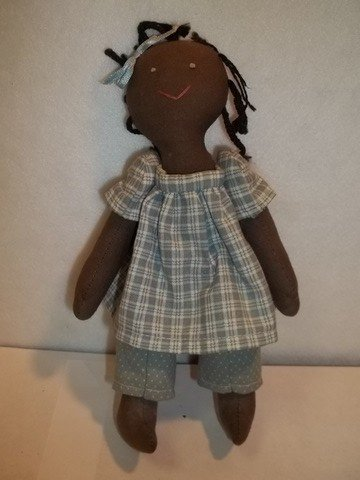 16: African American Baby Doll