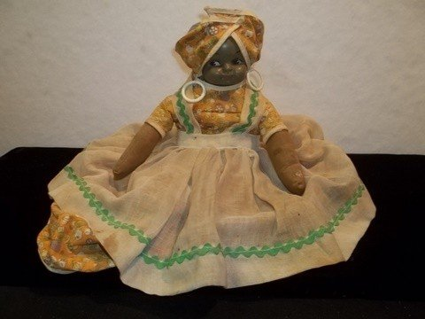 18: Vintage Black Americana Toaster Cover Doll