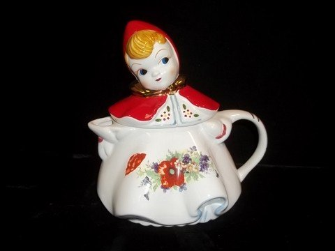 281: Red Riding Hood Teapot