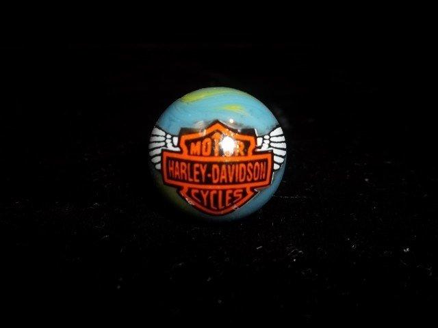 11: Harley Davidson Shooter Marble