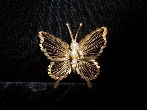 12: Butterfly Brooch