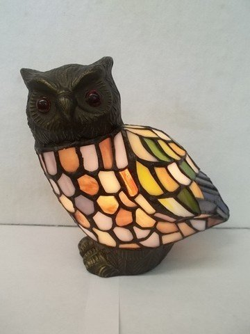 2: Nice Stained Glass Owl Light