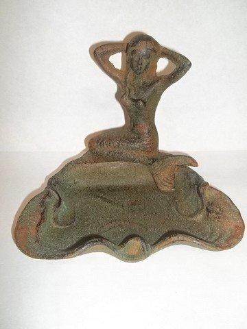 22: Cast Iron Mermaid Dish