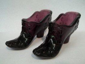 2 Purple Boots