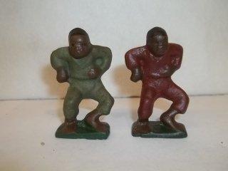 "11: 2-2"" Cast Iron Black Americana Figures"