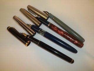 268: 4 Fountain Pens