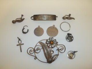 3: Sterling Silver Jewelry Lot