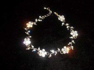125: Rhinestone Tennis Bracelet