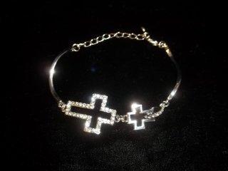 126: Rhinestone Tennis Bracelet