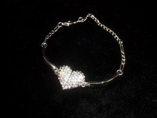 127: Rhinestone Tennis Bracelet