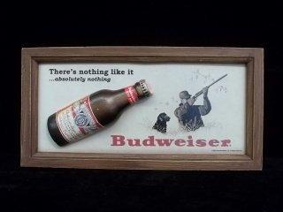 1: Budweiser 3-D Sign